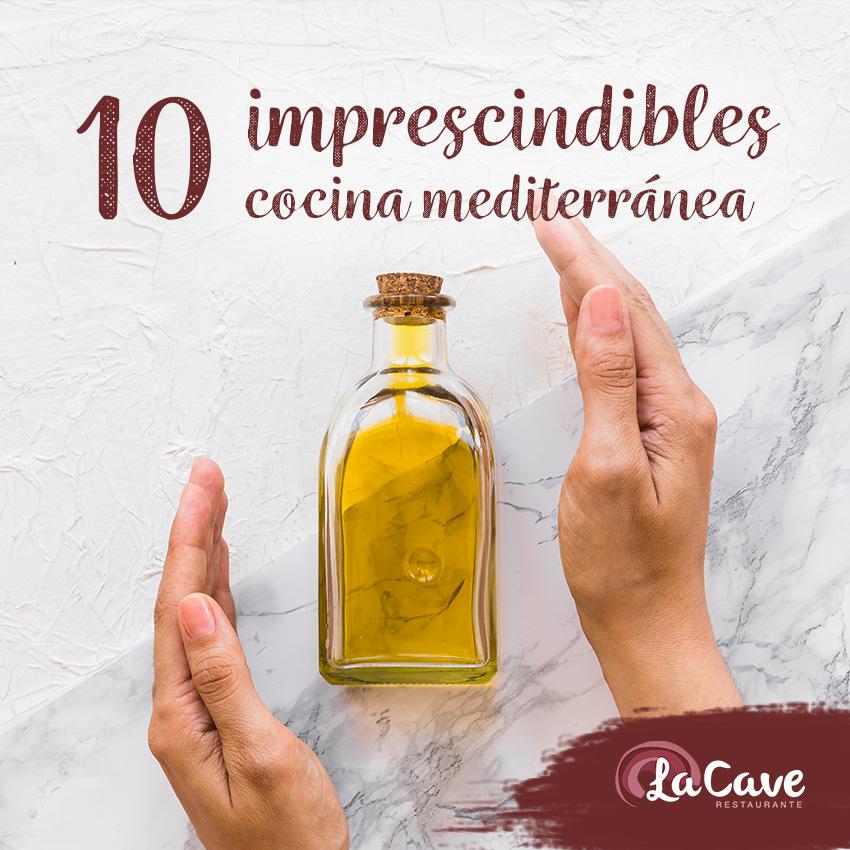 10 imprescindibles en la cocina mediterránea
