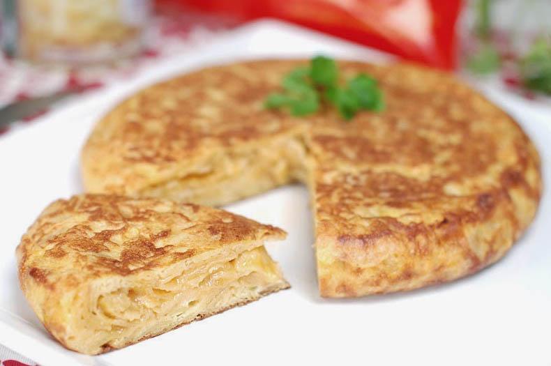 Una receta que siempre triunfa: La tortilla de patatas
