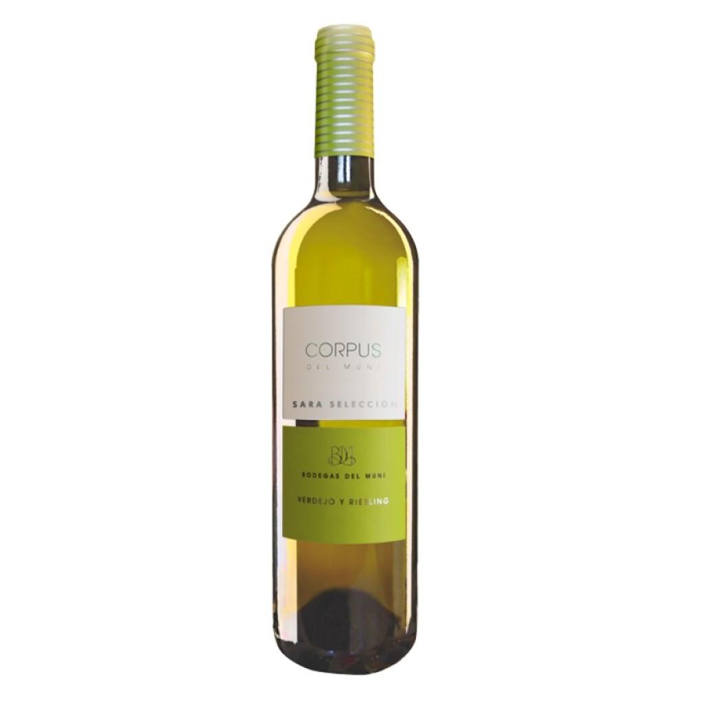 """Corpus del Muni (Vinos de la tierra de castilla) """"Verdejo y Riesling"""""""