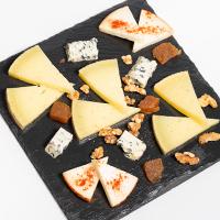Plato de queso manchego